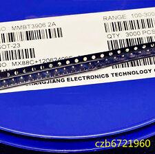500PCS MMBT3906 SOT-23 2N3906 SMD 40V 200mA PNP Transistor
