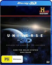 The Universe In 3D - How The Solar System Was Made (Blu-ray, 2013)