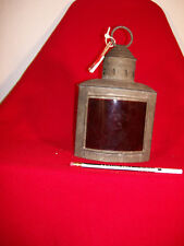 Vintage Nautical Boat Portside Running Light.