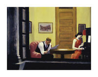 ART PRINT - Room in New York, 1932 by Edward Hopper 13x19 Poster