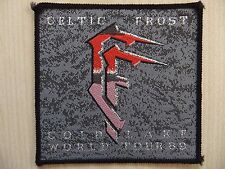 Patch ricamate-Celtic Frost-Cold Lake World Tour 89-VENOM-Sodoma