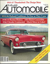 Collectible Automobile Magazine June 1987 Vol 4 - No 1
