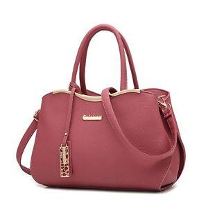 Ladies Handbag Shoulder Bag Tote Purse PU Leather Messenger Hobo Bag Satchel