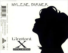 MYLENE FARMER - L'INSTANT X - DANCE REMIXES Cd Single - MINT!  anamorphosée