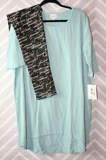 Lularoe Outfit Large Irma Mint TC Leggings New