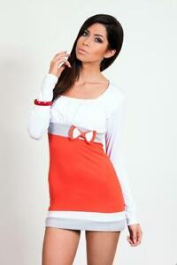 Damen Langarm Shirt Top Bluse Tunika mit Strass in verschiedenen Farben Gr. S M