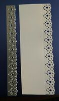 Sizzix Die Cutter  Decorative LACE EDGE BORDER  Thinlits fits Big Shot Cuttlebug