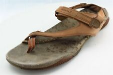 Merrell Size 9 M Brown Sport Sandals Leather Women Sandal Shoes