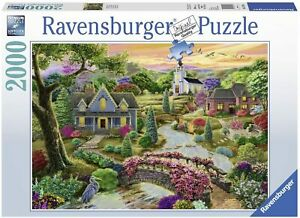 NEW Ravensburger Enchanted Valley 2000 Piece Jigsaw Puzzle