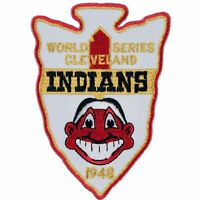 1948 Cleveland Indians MLB World Series Champions Sleeve Patch Jersey MLB Logo