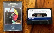 """Johnny Hallyday - Palais des Sports 1969 """"Que Je T'aime"""" - Cassette Audio / K7"""