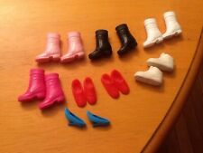 BARBIE SHOES Tennis Shoes Snow Boots Heels 8 Pair Lot Free Shipping