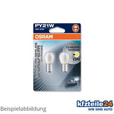 Osram | Glühlampe PY21W Diadem® Chrome 21W [12V] (2 Stk.) (7507DC-02B)