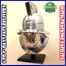 Gladiator Goliath Helmet Greek Roman Fighting Medieval European Costume Dress1