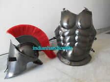 COLLECTIBLE MUSCLE ARMOR 300 MOVIE HELMET BLACK FINISH REPLICA REPRODUCTION GIFT