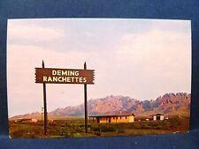 "Postcard NM Deming ""new"" Homes Deming Ranchettes"