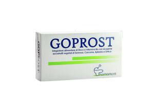 Goprost Funzionalità Tessuto Prostatico e Vie Urinarie Maschili