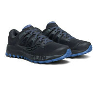 Saucony Womens Peregrine ISO Trail Running Shoes Trainers Sneakers - Black