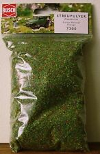 BUSCH 'GRASS' SCATTER ~ FLOWERING FIELD #7300 ~ suits all scales model train