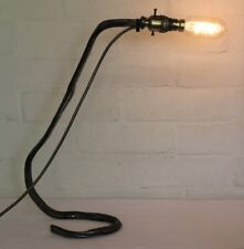 Desk Lamp An Antique Blacksmith Made Wrought Iron Table Lamp Industrial One Off