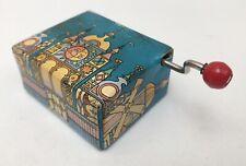 "Petite Boite à Musique Music Box ""It's a small world"" - Euro Disney 1990's - BE"