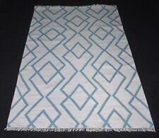 Wool Rug Home Decorative Rectangle Geometric Area Rag 5x8 Feet DN-1406