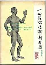 Cahier d'explications pour les planches anatomique des points d'acupuncture