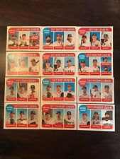 2018 Topps Heritage AL/NL League Leaders Complete Set of 12 FREE/FAST SHIPPING