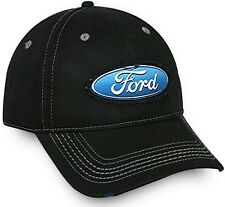 Ford Frayed Patch Black Cotton Cap