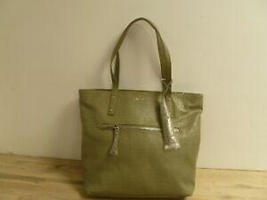 Nine West Large Pale Olive Green Shoulder Bag Brand New