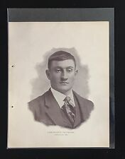 1898-99 HONUS WAGNER #45 OF THE NATIONAL COPPER PLATE SET OF 50