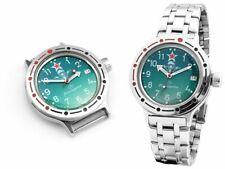 VOSTOK Komandirskie Taucheruhr 200m Automatik 2416/420307 Military russische Uhr