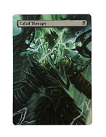 Cabal Therapy Full ALTERED ART MTG EDH Hand Painted Commander