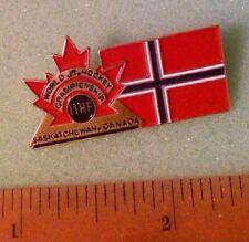 Hockey Pin - 1991 World Junior Hockey Championship Team Norway