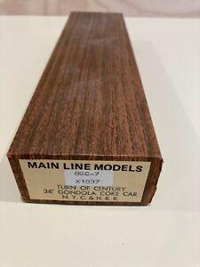 Main Line Models N.Y.C. & H. RR 36' Gondola Coke Car Kit