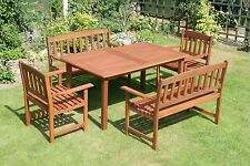 Tropicana 5 Piece Hardwood Garden Furniture Set (FSWSET3) **SALE PRICE**