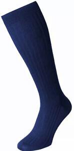 Mens 1 Pair Pantherella Scala Cashmere Blend Sparkle Ribbed Socks