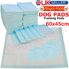 HEAVY DUTY PUPPY DOG LARGE TRAINING WEE WEE PADS PAD FLOOR TOILET MATS 60 x 45cm