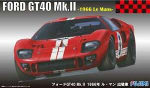 Fujimi RS-51 Ford GT40 Mk.II 1966 Le Mans 1/24 Scale Kit 4968728126067