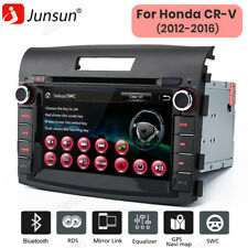 "Gps Navigation 7"" Car Stereo 2Din Dvd Player Radio Bt For Honda Crv 2012-2016"