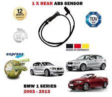 PER BMW SERIE 1 2003-2013 NUOVA 1 posteriore sensore di velocità ruota ABS con
