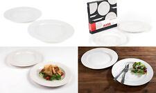 Alessi 1110301 La Bella TAVOLA Porcelain Dinner Plates 27cm Set of 2 WD