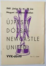 1965 MANCHESTER UTD v STRASBOURG PROGRAMME FAIRS CUP QUARTER FINAL 2ND LEG