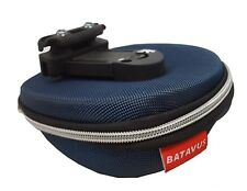 Batavus Semi Rigid Under-Saddle Bag - Blue/Black - Old Stock, Blemished
