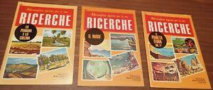 Lotto 3 libri Le Ricerche, edizione Salvadeo, originali anni 70-80