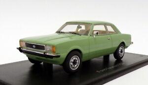 Neo 1/43 Scale NEO45139 - Ford Taunus TC2 2Dr Ghia - Green