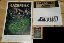 Lazer Silk by Gebelli for Apple II+,IIe,IIc,IIgs 1982