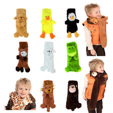 i-Smalls Boys Girls Kids Fun Fancy Cute Animal Design Supersoft Scarf