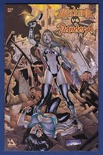 Hellina vs Pandora #1 Amorim Variant cover 2004 Avatar