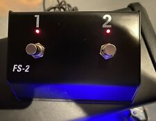 Hughes & Kettner Hughes & Kettner FS2 TubeMeister Two-channel Footswitch
